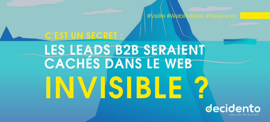 leads cachés sur le web invisible