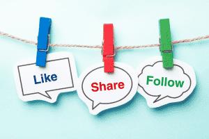 Interactions réseaux sociaux