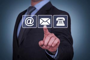 Contact mail, téléphone